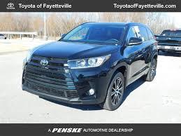 2018 New Toyota Highlander SE V6 FWD at Toyota of Fayetteville ...