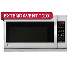 kenmore toaster oven. lg 2.2cuft over-the-range microwave oven in stainless steel kenmore toaster