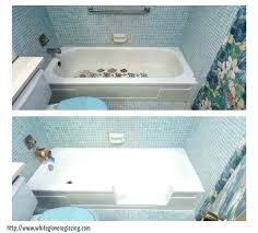tub spray paint bathtub refinishing bathroom magnificent resurface plastic touch up home depot and tile colors
