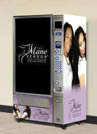 Hair Vending Machine Cool Beauty Entrepreneur Creates Hair Extension Smart Machine And Mobile