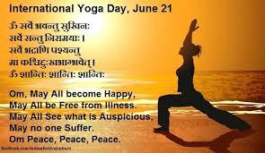 international yoga day wishes image