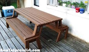 folding picnic table bench plans folding picnic table plans folding picnic table bench plans pdf free
