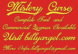 The curse generator adds symbols on top, beneath, and in the the cursed font generator can be used to generate messed up text that can be used on different social media. Mistery Curse Font Befonts Com