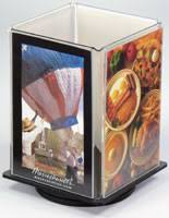 Restaurant Table Top Display Stands Cheap Table Tents MultiPanel BiFold TriFold Displays 77