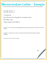 Sample Of Memorandum Letter Memo Outline Template Clothshop Riot Worlds