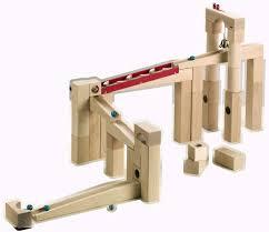 haba 1136 wooden marble track large set