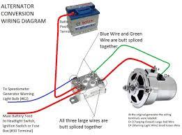vw bug alternator wiring wiring diagram \u2022 Mitsubishi Alternator Wiring Diagram vw bosch alternator conversion type 55 amp vw parts jbugs com rh jbugs com vw bug alternator conversion wiring vw bug alternator wiring diagram