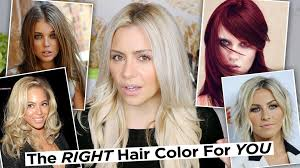 What Hair Style Should I Get the right hair color for your skin tone how to find your skin 1722 by wearticles.com