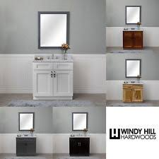 Real wood bathroom vanities Depot 30 Ebay Solid Wood Bathroom Vanity Ebay
