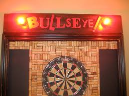 Dart Board Cabinet With Chalkboard 17 Best Images About Bar On Pinterest Old Picture Frames Wine