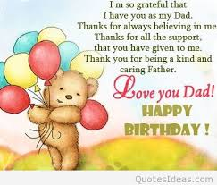 Birthday Quotes For Dad Custom Happy Birthday Dad