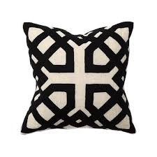 black and white accent pillows. Delighful Accent On Black And White Accent Pillows DecorPad