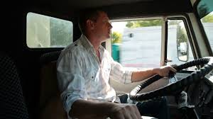 Delivery Truck Driver At The Wheel Stock Video Footage Storyblocks