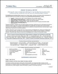 Technical Writer Resume Technical Writer Resume Example And Expert Tips 8