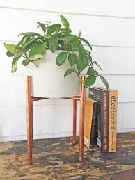 Mid Century Plant Stand 16 Mid Century Modern Plant Stand Ideas For Your Plant