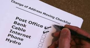 Change Of Address Who To Notify Change Of Address Checklist Who To Notify When Moving Explore