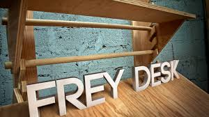 Frey Desk- flexible workspace for creative people
