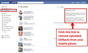 facebook phonebook how safe is your