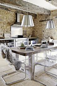 One Wall Kitchen Kitchen Rustic Kitchen Blue Exposed Beam One Wall Kitchen Island