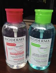 bioderma makeup remover h2o micelle solution