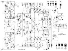 power amplifier 2000 watt schematic design