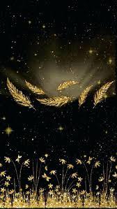 black gold wallpaper black and gold