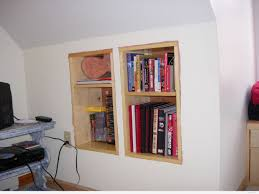 Built In Wall Shelves Wall Shelves Design Great Built In Knee Wall Shelves Knee Wall