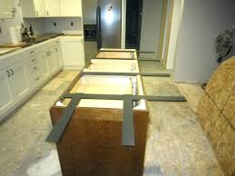 countertop frame support