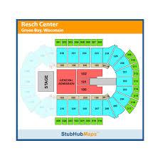 Resch Center Green Bay Event Venue Information Get Tickets