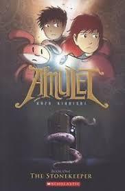 image is loading the stonekeeper amulet 1 exlib by kibuishi kazu