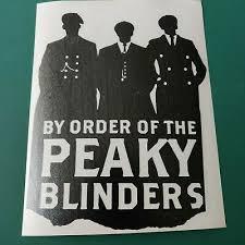 Peaky blinders is a british period crime drama television series created by steven knight. Peaky Blinders Silhouette Car Van Camper Bike Laptop Decal Sticker Vinyl Graphic Ebay