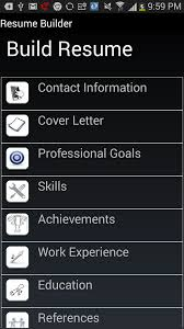 Amazon Com Resume Builder Pro Appstore For Android