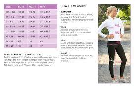 Gapfit Size Chart 30 Inquisitive Athleta Size Guide