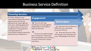 Business Service Definition For Itfm