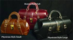 b leather heritage collection doctor bags