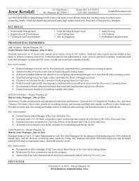 The Best District Manager Resume Sample Resume Template Info