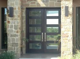 glass front door safety