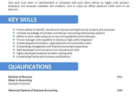 Resume What Is The Meaning Of Key Skills In Resume Stunning