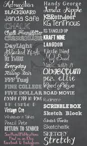 SouthardBelle Free chalkboard fonts!