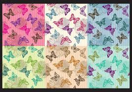 Butterfly Patterns Inspiration Vintage Butterfly Patterns Download Free Vector Art Stock