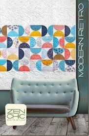 Modern Retro quilt pattern ZEN CHIC, www.brigitteheitland.de | Zen ... & Modern Retro quilt pattern ZEN CHIC, www.brigitteheitland.de Adamdwight.com