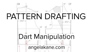 Pattern Drafting Unique Sewing Patterns Flat Pattern Drafting Dart Manipulation YouTube