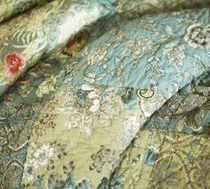 Neena Patchwork Quilt, King/Cal. King | Patchwork, Queen beds and ... & potterybarn.com. 2016. Adamdwight.com