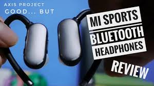 Good... but - <b>Xiaomi Bluetooth Sports</b> Headphones Review - YouTube