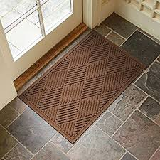 large front door matsAmazoncom  Large Entryway Rug with Non Slip Rubber Backing