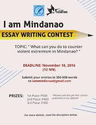 i am mindanao i am mindanao is having an essay writing facebook no automatic alt text available