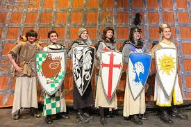 the knights of the round table photo by laura marshall