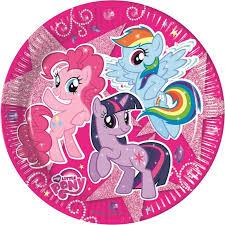 <b>Тарелки</b> My Little Pony 82224 (80126) <b>Procos S.A.</b> купить в ...