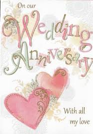 Design Studio Our Wedding Anniversary Cards Wgc 6368 Wholesale