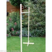 Wooden Limbo Game GARDEN LIMBO GAME OUTDOOR INDOOR WOODEN PARTY GAME 100100M TALL 52